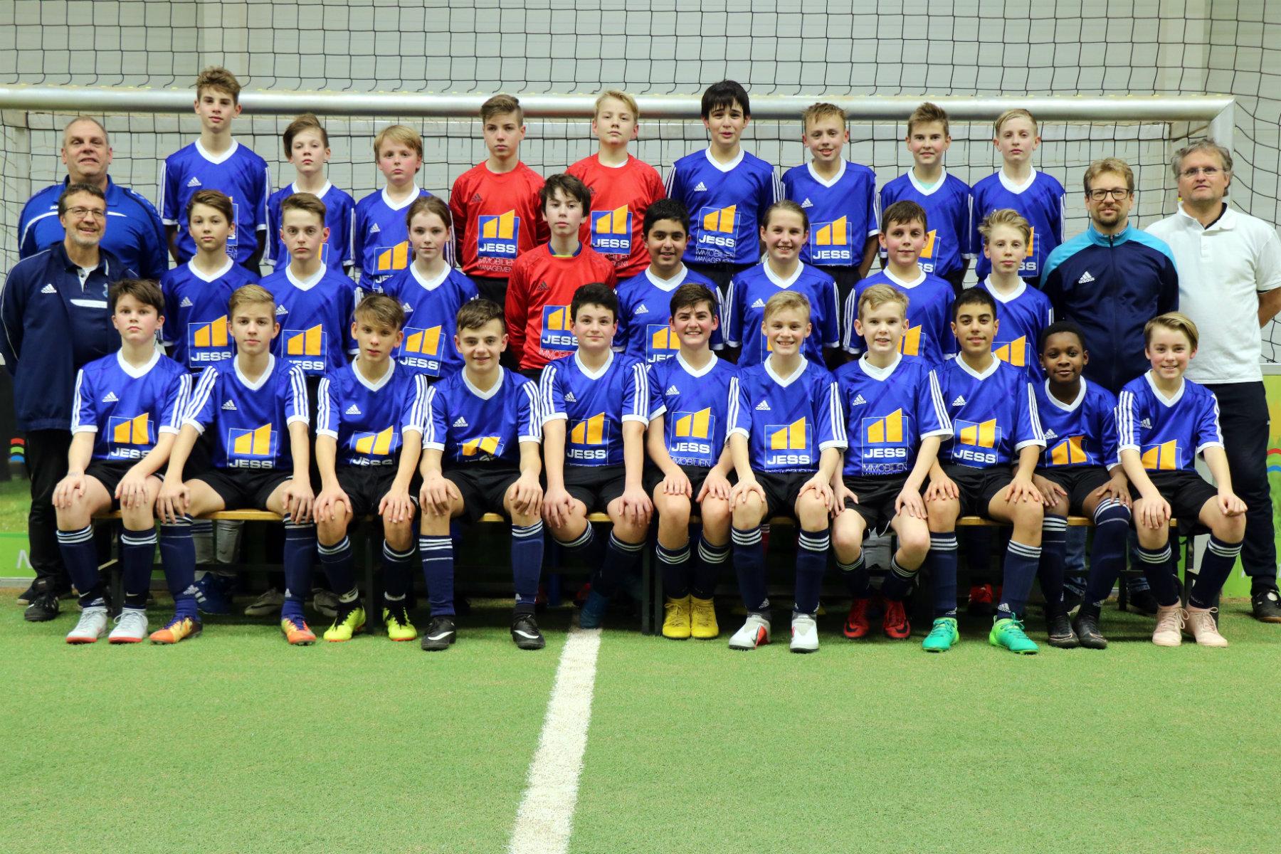 Mannschaftssfoto 1.E SG (Jg. 2006)